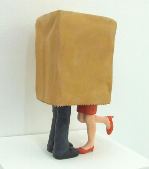 Mixed-media sculpture