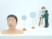 Mixed media-sculpture