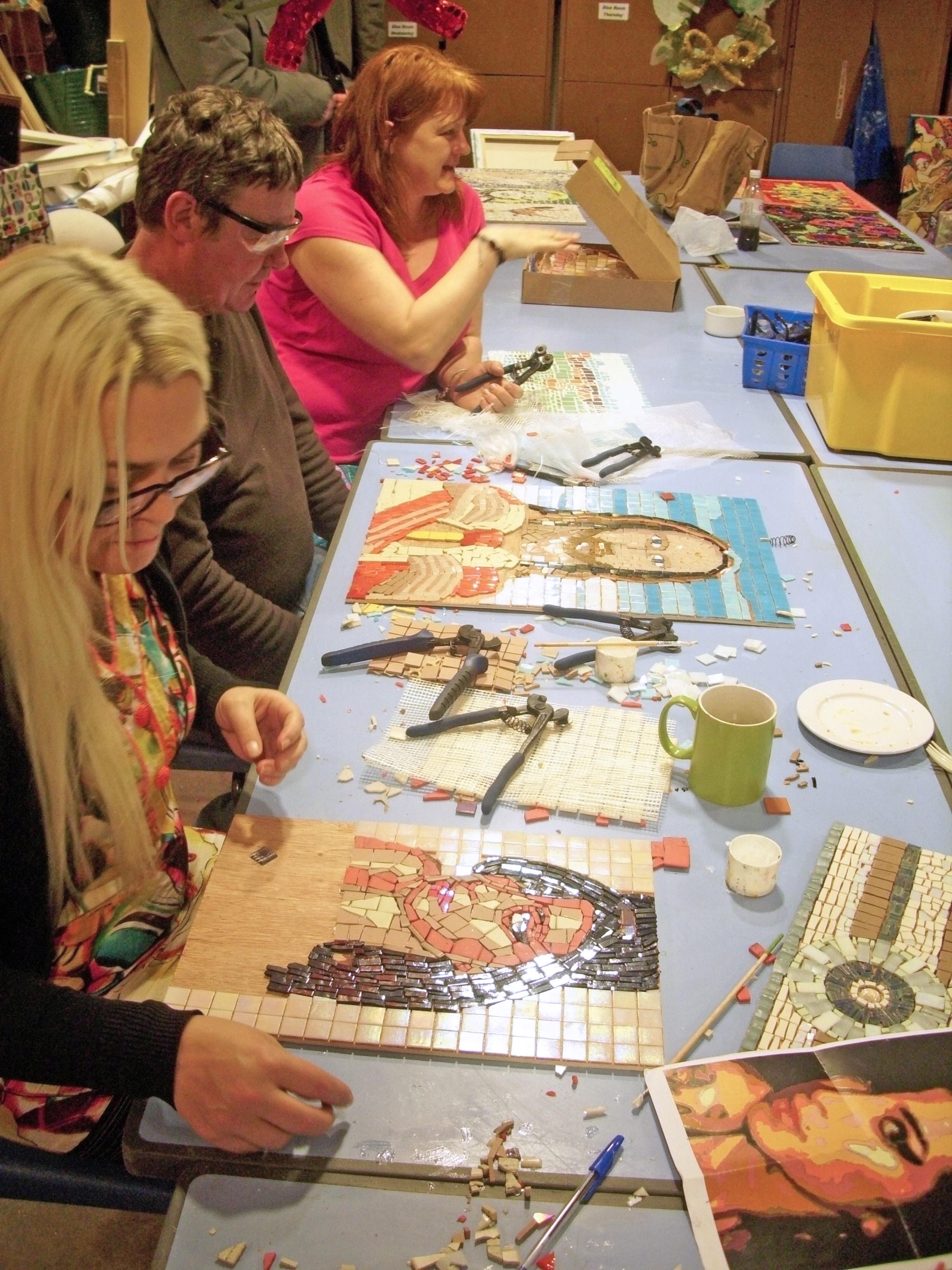 Mosaic Workshops @ the Bluecoat